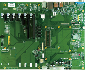 COM Express Modules and Carrirer Boards