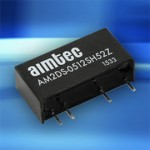 New 2 watt DC-DC converter from Aimtec features 5200 VDC I/O isolation