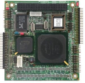 PC 104 CPU cards and modules