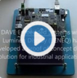 DAVE Embedded Systems' BORA XILINX ZYNQ SoM with Lumineq Display