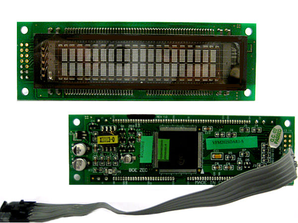 VFD Dot Matrix Modules