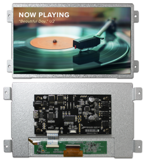 """New 10.1"""" HDMI TFT Module Available from Newhaven Display International, Inc."""